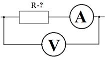 Определение сопротивления на участке цепи с помощью закона Ома