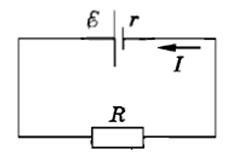 Фото схема закона Ома для полной цепи