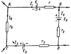 участок электрической цепи